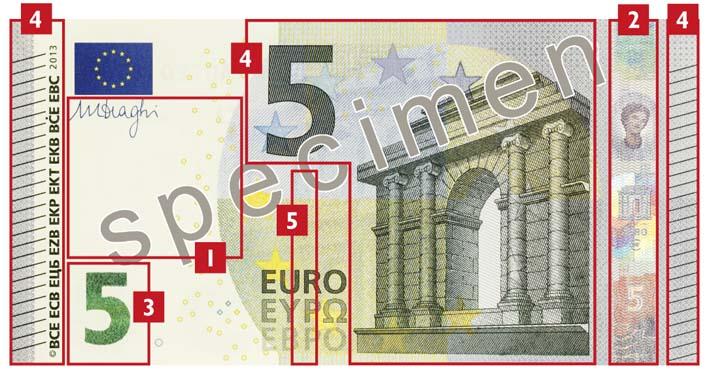 Les signes de sécurité ont été perfectionnés et rendront les billets encore plus sûrsindique la BCE    Les signes de sécurité ont été perfectionnés et rendront les billets encore plus sûrs