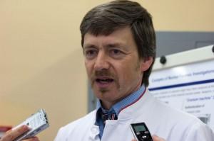 Klaus MAYER, Directeur du département de criminalistique nucléaire à l'Institute for Transuranium Elements, à Karlsruhe, en Allemagne.
