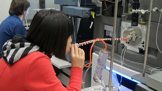 Spectromètre pour empreinte respiratoire